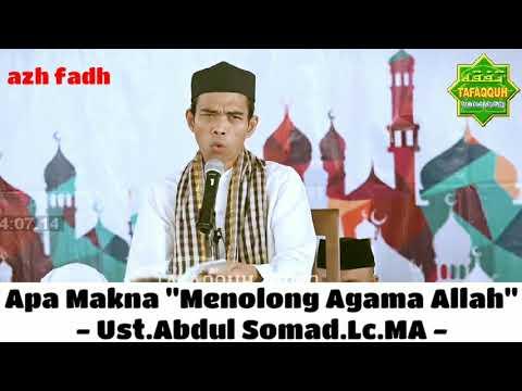 Ust.Abdul Somad.Lc.MA - Apa Makna
