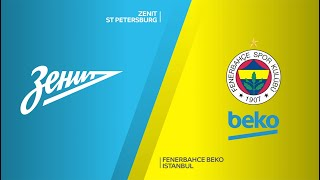 Zenit St Petersburg-Fenerbahce Beko Istanbul Highlights | Turkish Airlines EuroLeague RS Round 12
