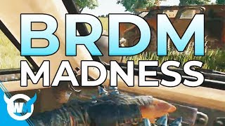 INSANE BRDM PLAYS (ft. Swagger) - WTFMOSES PUBG GAMEPLAY
