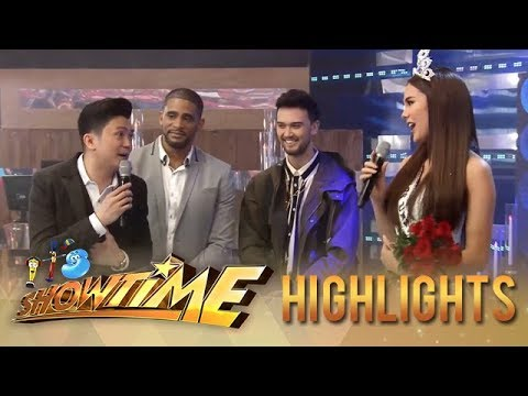 It's Showtime: Vhong shares he got nervous when he escorted Catriona Gray