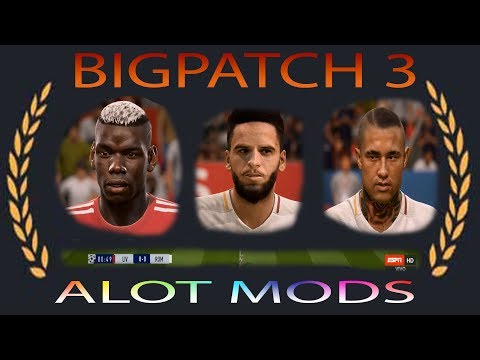 FIFA 18 NEW MODS - BIGPATCH 3 BY IYASZAEN AND FRIENDS !!