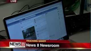 Tulin Reports on Social Media Benefits During Super Storm Sandy