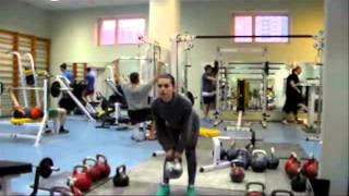 Гиревой фитнес. Комплекс №1.