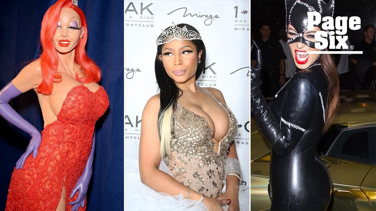Eye-popping Halloween costumes from Hollywood's sexiest stars   Page Six