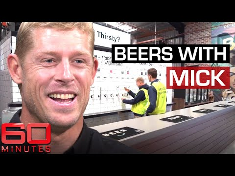 How Mick Fanning made his millions: the origin of Balter Brewery | 60 Minutes Australia