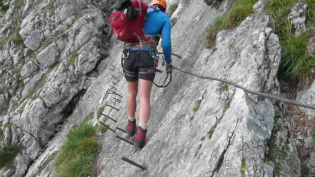 Klettersteig Zugspitze Höllental : Klettersteig höllentalklamm zur zugspitze youtube