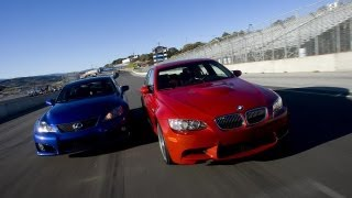 2008 BMW M3 v 2008 Lexus IS F - CAR and DRIVER