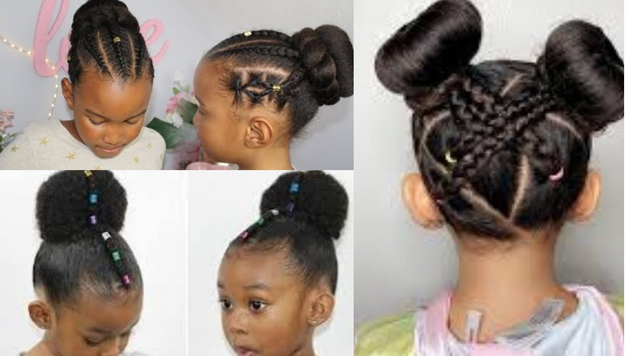 Coiffure Petite Fille Chignon Rapide Et Facile Kids Hairstyles For 2020 Youtube