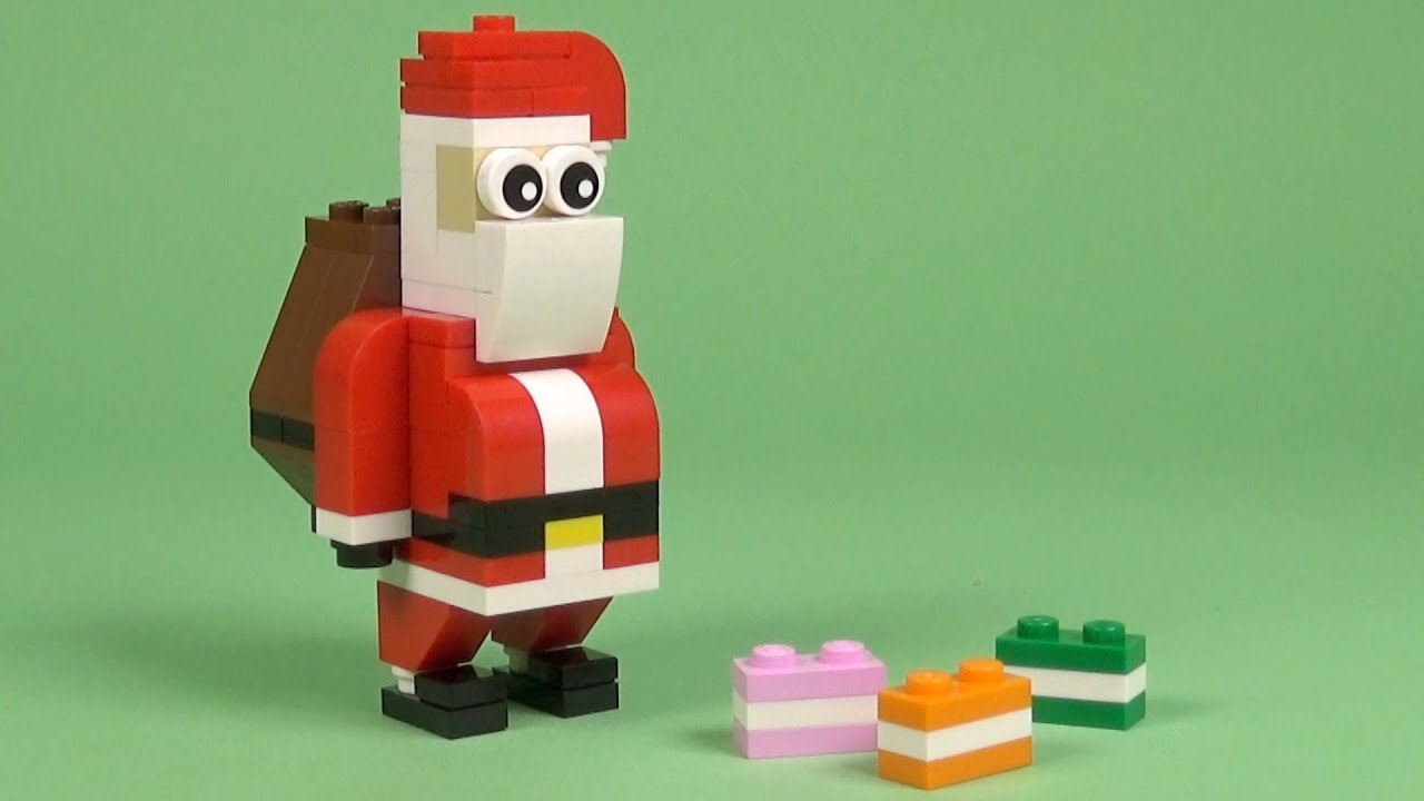 NEW Creator Jolly Father Christmas Santa Polybag Stocking Filler LEGO 30478