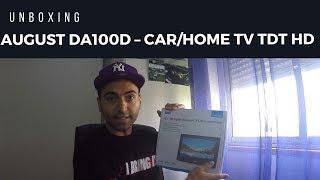 Unboxing - Tv no carro em casa e em todo o lado