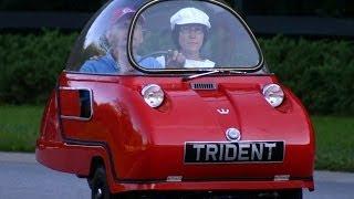 видео: Самый маленький автомобиль в мире Peel Trident