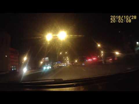 ДТП.Воронеж. Шишкова - Бульвар Победы (мост) 28.10.2016