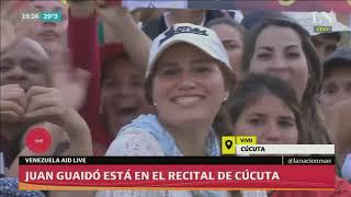 Análisis de lo que dejó el Venezuela Aid Live; Guaidó llegó al recital