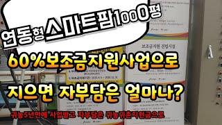 귀농딸기농부스마트팜 SmartFarm 시설하우스1000…