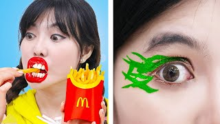 11 MAKEUP & FASHION BEAUTY HACKS FOR GIRLS | EASY DIY CLOTHING TIPS AND TRICKS BY CRAFTY TOUCH