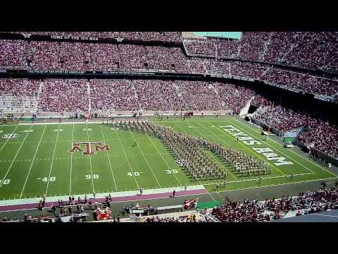 Texas A&M Halftime Drill A&M vs. Nevada