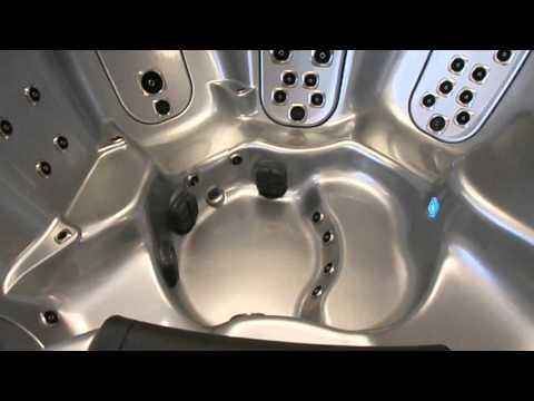 Bullfrog Spa A7 model at the Hot Tub Place of Sacramento