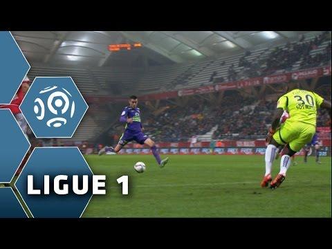 But Julien FERET 74'  Stade de Reims  SM Caen 01   REIMS  SMC  201516