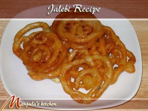 Jalebi (Sweet) Recipe by Manjula, Indian Vegetarian Cuisine