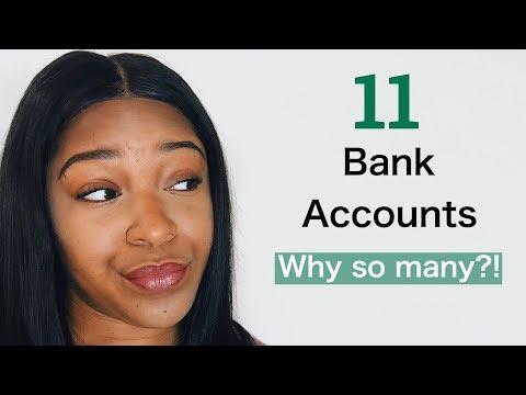 How Many Bank Accounts Should You Have? Digital Envelope Method