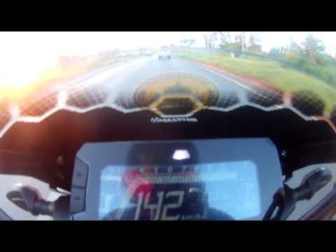 Topspeed 152km/h CB150R+API Run2
