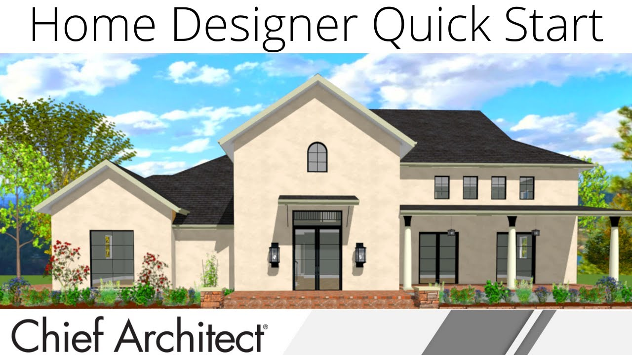 Quick Start Demonstration With Home Designer 2020 Youtube