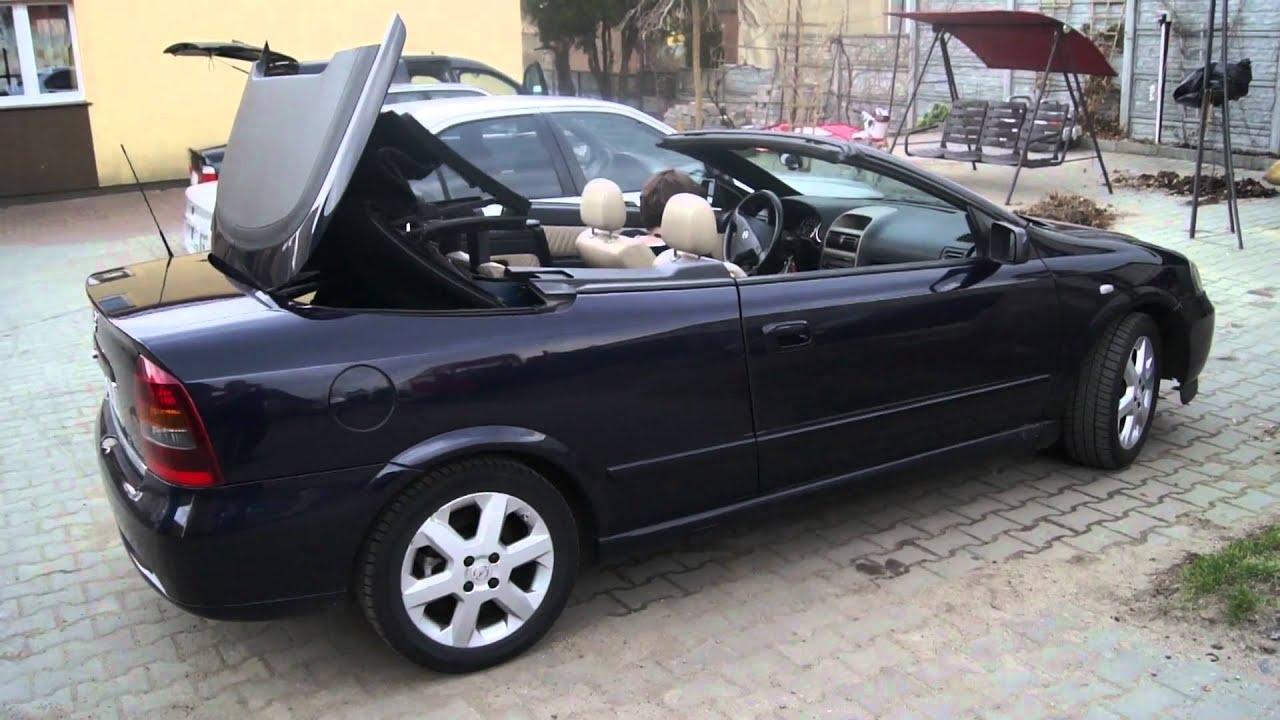 Opel astra ii g bertone cabrio otwieranie dachu hd youtube - Opel astra coupe bertone fiche technique ...