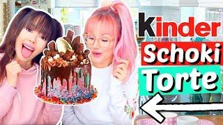 KINDER Schokolade Torte OHNE BACKEN 🤰🏻 10 000 Kalorien  | ViktoriaSarina
