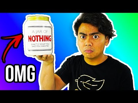 I Bought A Jar Of NOTHING!
