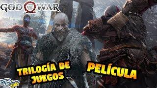 God of War: ¡Actor confirma UNA Trilogía de juegos! - Adelanto de la PELÍCULA | SQS