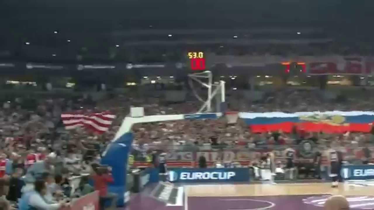 Сербские болельщики спели катюшу видео