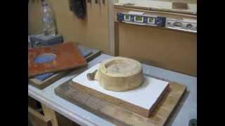 Make a wooden ashtray
