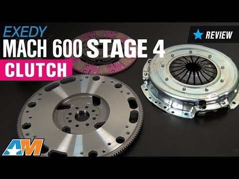 2007-2014 Mustang Exedy Mach 600 Stage 4 Clutch Review