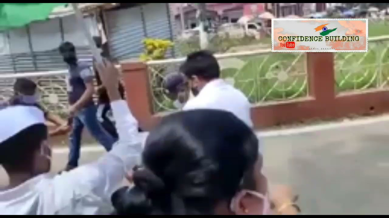ছাত্র নেতা সম্রাট রায়ের প্রতি পুলিশের  অত্যাচার