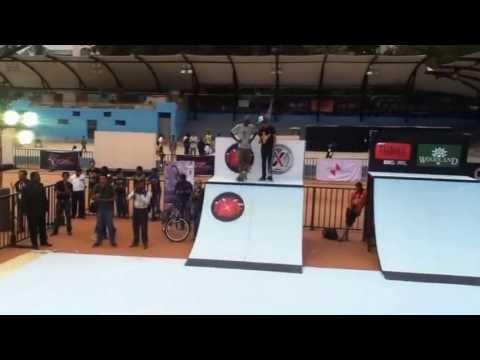 SlowlyStoked Skateboarding (At Xtreme Invasion - India)