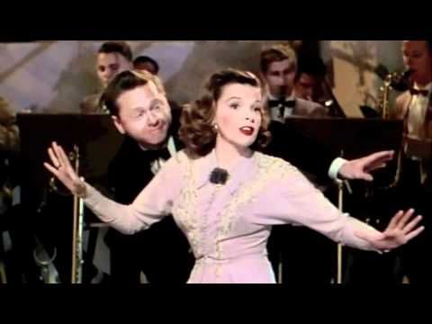 "Judy Garland & Mickey Rooney ""I Wish I Were in Love Again"" 1948"