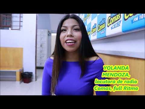 YOLANDA MENDOZA locutora radio Comas, Full Ritmo