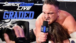 WWE SmackDown Live: GRADED (21 August) | SummerSlam 2018 Fall Out