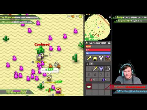 Realm of the Mad God: Tons of Monsters Livestream Highlight