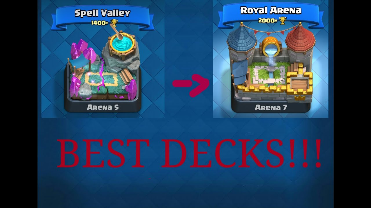 Clash Royale Arena 5 Deck
