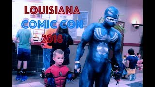 Louisiana Comic Con 2018 Vlog// Follow Me Around