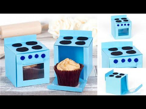 How to make a Oven Cupcake Box