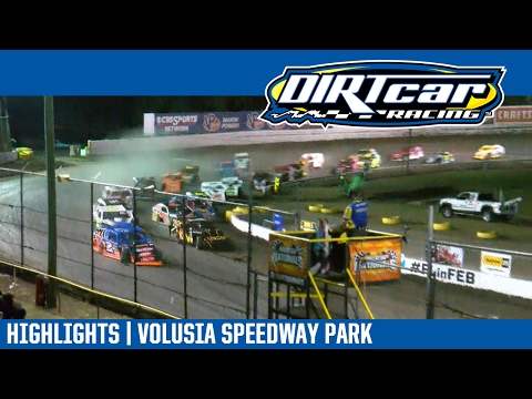 UMP Modifieds Volusia Speedway Park DIRTcar Nationals February 15, 2017 | HIGHLIGHTS