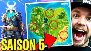 SAISON 5: COMBAT PASS, NEW MAP... on FORTNITE: Battle Royale!!