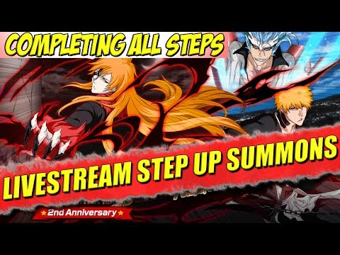 Bleach Brave Souls STEP UP SUMMONS 2nd ANNIVERSARY