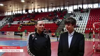 Bára Machútová - Rozhovor po halovém semifinále 2020