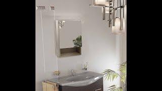 DIY - Klaxon Wooden Single Door Mirror Cabinet with Drawer - G0223IT0006/01