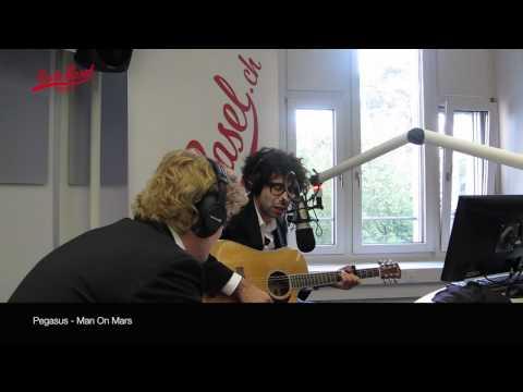 Pegasus live bei Radio Basel