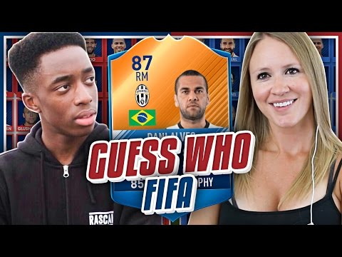 FIFA 17 GUESS WHO vs  MANNY FT MOTM 87 DANI ALVES !!
