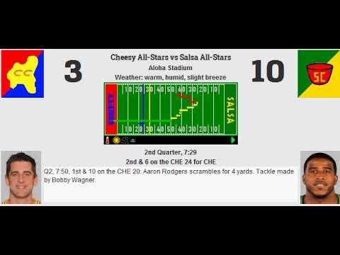All Star Bowl XII: Cheesy All-Stars (5-6) vs Salsa All-Stars (6-5)